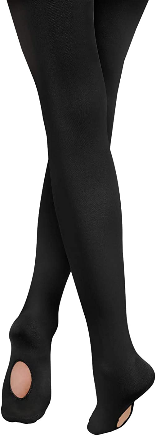 HDE Ballet Tights for Girls Convertible Transition Dance Tights for Girls