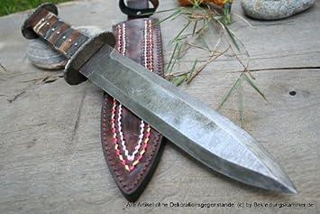 Vikingo dershogun / - cuchillo de acero de damasco ...