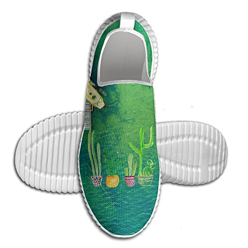 Cacti Cactus Love Artical Lightweight Breathable Casual Running Shoes Fashion Sneakers Shoes by Coallw