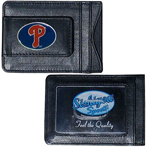 MLB Philadelphia Phillies Leather Cash and Card (Philadelphia Phillies Mlb Leather)