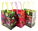 Dream works Trolls 12 Pcs Goodie Bags Party Favor Bags Gift Bags Birthday Bags