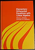 img - for Elementary Differential Equations With Linear Algebra (Addison-Wesley series in mathematics) book / textbook / text book