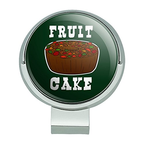 GRAPHICS & MORE Fruit Cake Golf Hat Clip with Magnetic Ball Marker