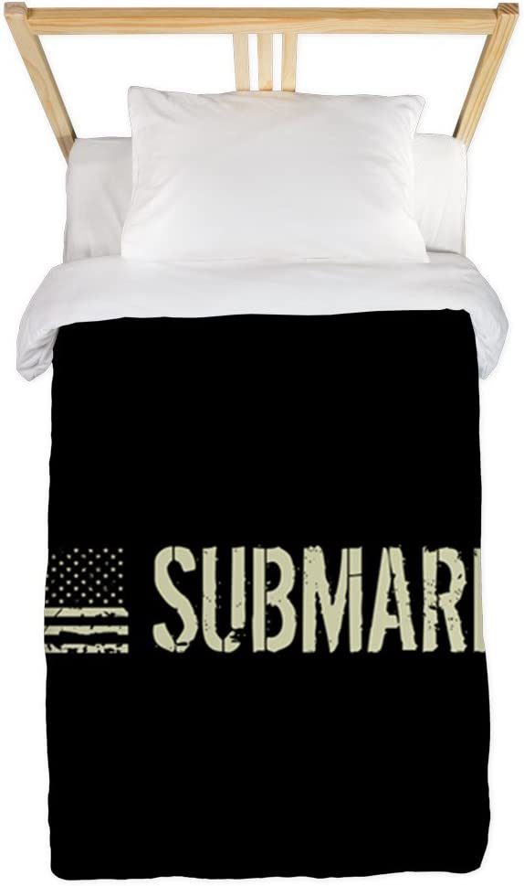 CafePress U.S. Navy: Submariner Twin Duvet Cover, Printed Comforter Cover, Unique Bedding, Microfiber