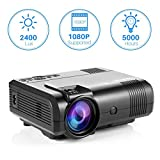 Projector, Tontion 2400 Lux Video Projector supporting 1080P -50,000 Hour LED Full HD - Best Reviews Guide