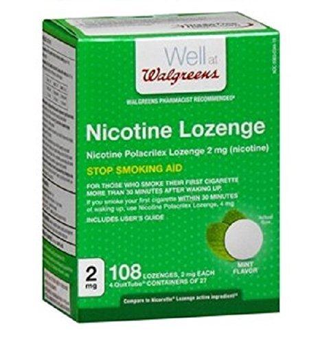 Walgreens Nicotine Lozenge 2 mg, Mint, 108 ea