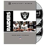 NFL Oakland Raiders 3 Greatest Games: Super Bowl Victories by NFL