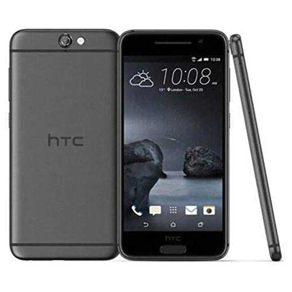 timeless design d81ea 2147b HTC One A9 Factory Unlocked Smartphone, 32GB, 4G LTE, 5.0-Inch -  International Version (Carbon Gray)