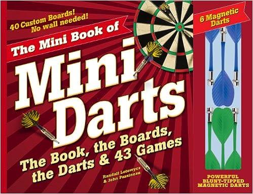 Amazon com: The Mini Book of Mini Darts: The Book, the