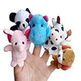 Bestpriceam® 10pcs Animal Finger Puppet Plush Child Baby Early Education Toys Gift