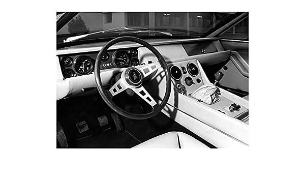 Amazon Com 1970 Lamborghini Jarama 400 Gt Interior Automobile Photo