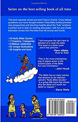 nutty bible quotes satire on the best selling book of all time