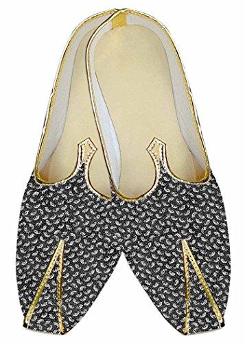 Paisley Mens MJ013601 Look Wedding Shoes Gray INMONARCH T6qRq