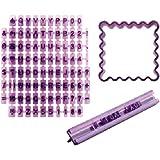 Ibili 729800 Tampon marqueur de biscuits abécédaire + empote-pièce