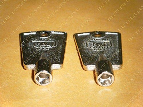 Compx National D8591 Pentagon Freezer Key (2-Pack)