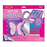 Melissa & Doug Mess-Free Glitter Treasure Box and Mirror Craft Kit