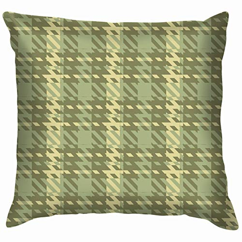 Ornamental Tartan Bedding Beauty Fashion Throw Pillows Covers Accent Home Sofa Cushion Cover Pillowcase Gift Decorative 18X18 Inch]()