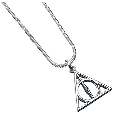 Amazon Official Harry Potter Deathly Hallows Symbol Silver