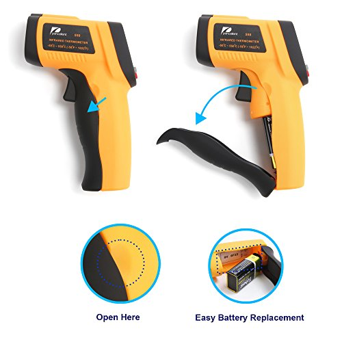 Infrared Thermometer -58 to 1022 Degree F Pancellent 550 ...