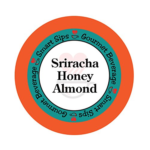 Sriracha Honey Almond Coffee, 24 Count Compatible With ALL Keurig K-cup ()
