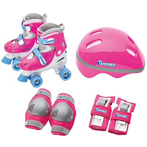 - Chicago Girls Quad Roller Skate Combo, Medium