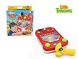 Pinball Game - Hammering Pinball Table Top Fun Educational Game for Preschool Kids & Older