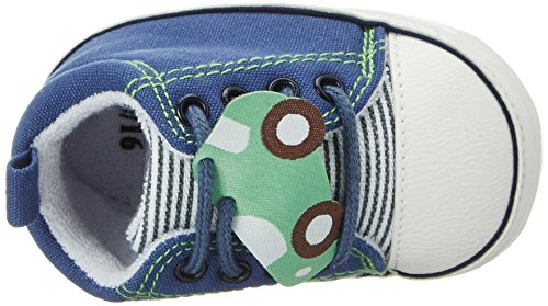 Sterntaler Baby-schuh - Zapatillas de casa Bebé-Niñas Azul (Nachtblau)