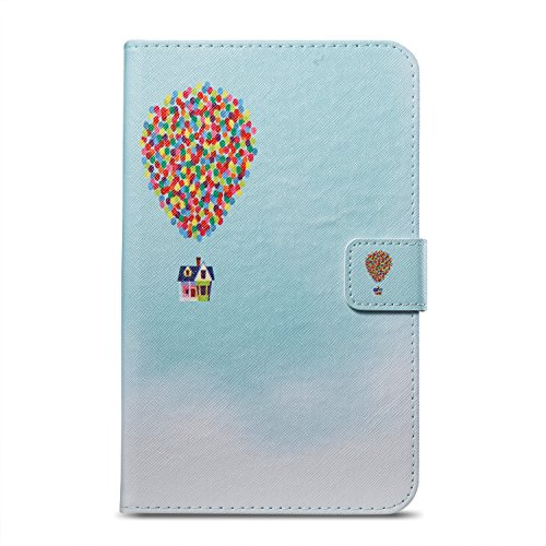 Fire 7 Tablet Case, Candy-Cases(TM) PU Leather Stand Cover Smart Magnetic Closure Wallet Shell Amazon Kindle Fire 7 Tablet 7