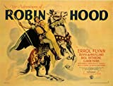 The Adventures of Robin Hood POSTER Movie (1938) Style C 11 x 14 Inches - 28cm x 36cm (Errol Flynn)(Olivia de Havilland)(Basil Rathbone)(Alan Hale)(Una O'Connor)(Claude Rains)(Patric Knowles)