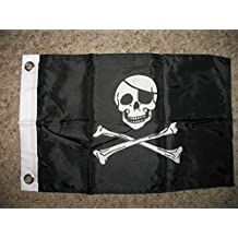 Pirate With Patch Boat Car Motorcycle Flag