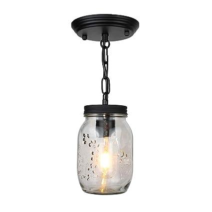 MJBOY Lámparas de Araña Industrial Creativa Cabeza única ...