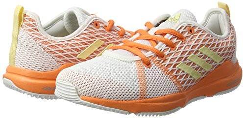 Chaussures ftwr easy Arianna Adidas Multicolore easy Orange Yellow Femme Cloudfoam White Fitness De FAZxn60Z