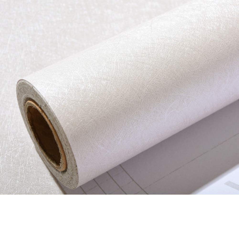DTFGVDC Solid Color Peel And Stick Wallpaper,Home And Room Decoration,Self-adhesive-beige 60x600cm(24x236inch)
