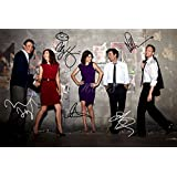 HOW I MET YOUR MOTHER X5 SIGNED PHOTO PRINT - SUPERB QUALITY - 12 X 8 INCHES (A4)