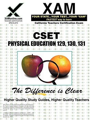CSET Physical Education 129, 130, 131 (XAM CSET)