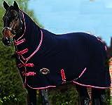 Challenger Horsewear 74'' Horse Sheet Polar Fleece Cooler Exercise Blanket Wicks Moisture 4385N