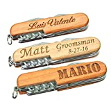 Engraved Wood Multitool – Fathers Day Groomsmen Gift – Custom Personalized for Free Review
