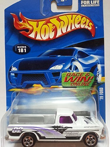 Hot Wheels 2001 # 181 '79 White Ford Truck