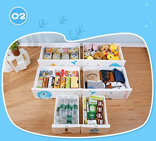 LIAN Kunststoff Schublade Lagerschrank Kinderzimmer