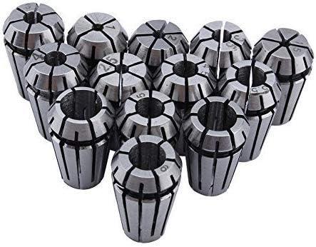 13Pcs ER11 Spring Collet Set 1mm-7mm For CNC Milling Lathe Engraving Machine