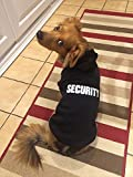 BA1002-1 Security Patterns Printed Puppy Pet Hoodie