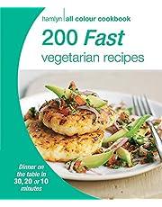 200 Fast Vegetarian Recipes: Hamlyn All Colour Cookbook (Hamlyn All Colour Cookery)