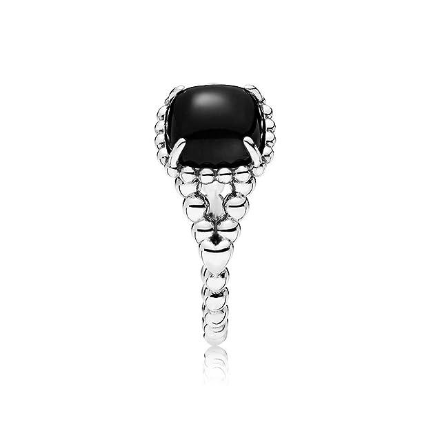 c24eb702a Pandora Women Silver Solitaire - 197188NCK-60: Amazon.co.uk: Jewellery