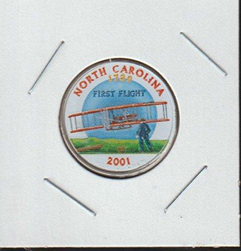 2001 D Washington State Quarter North Carolina Quarter Choice Extremely - 2001 State Quarter Carolina North