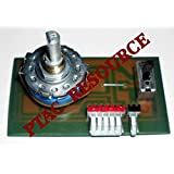 PTAC RESOURCE MAIN SWITCH AZ2100 SW-VZ31HSW 1FA4B1A001900 (replaces WP28X56 main switch)