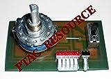 PTAC RESOURCE MAIN SWITCH AZ2100 SW-VZ31HSW 1FA4B1A001900 (replaces WP28X56 main switch)