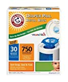 Munchkin Arm & Hammer Diaper Pail Refill Bags, (60Count) Size: 60-Count Model: (Newborn, Child, Infant)