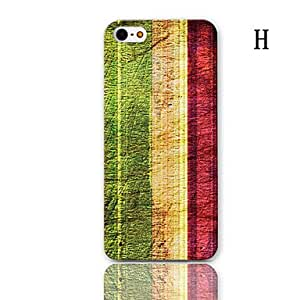 NEW Car Series Pattern Hard Case with 3-Pack Screen Protectors for iPhone 5/5S , E