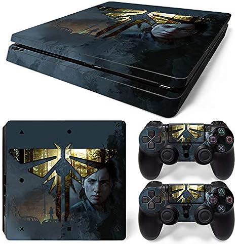 46 North Design Ps4 Slim Playstation 4 Slim Pegatinas De La Consola L.O.U.S + 2 Pegatinas Del Controlador: Amazon.es: Videojuegos