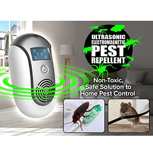 ZooArts Electronic Insect Mosquito Killer Eliminates Most Flying Pests Perfect for Indoor Outdoor Home Traveling by ZooArts (Image #3)